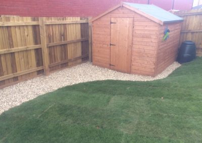 Turf Laying – New Build, Exeter
