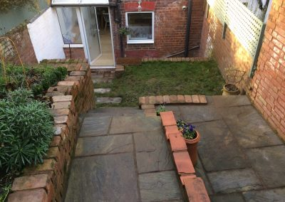 Paving and Pointing – St Leonards, Exeter