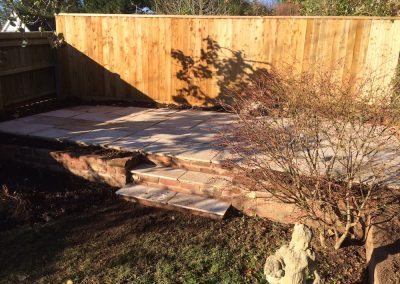 New Patio and Planting Areas – Silverton, Exeter