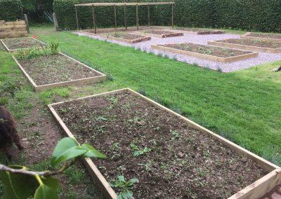 Vegatable Garden – Brampford Speke, Exeter