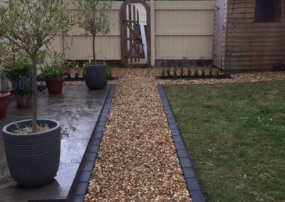 Patio, Planters and Gravel Paths – Tedburn St Mary, Exeter