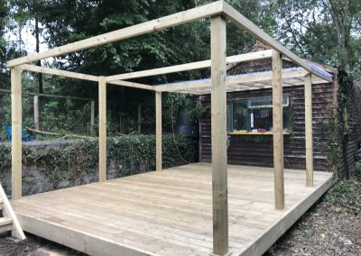 Decking and veranda – Exeter