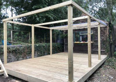 Decking and veranda – Exeter