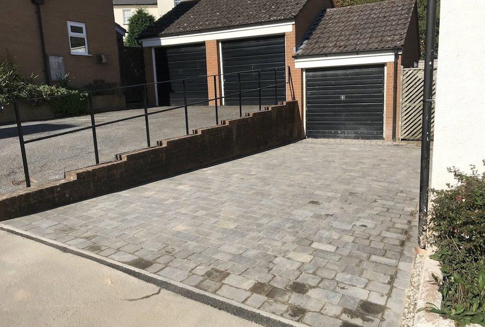 Block Paved Driveway – Thorverton, Exeter