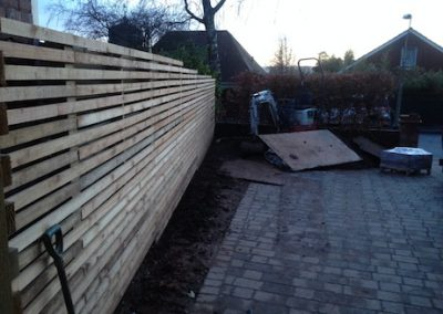 Latest fence replacement job
