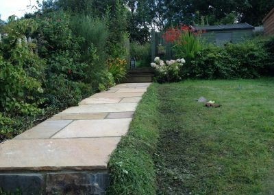 Path and Handrail for Garden in Okehampton