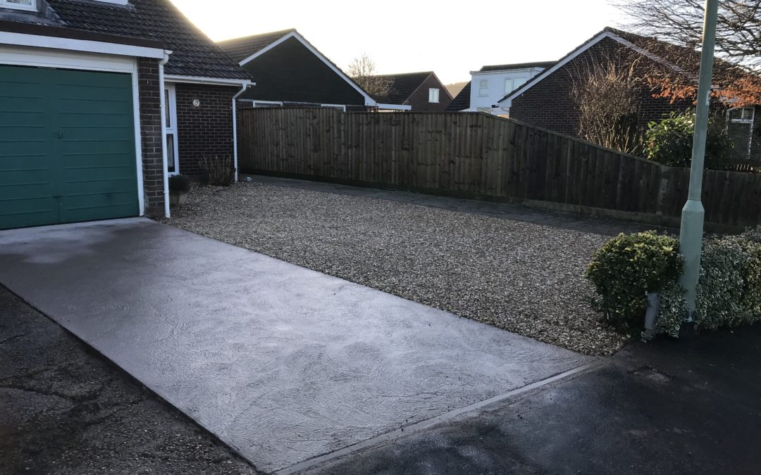 New Driveway – Stoke Cannon, Exeter