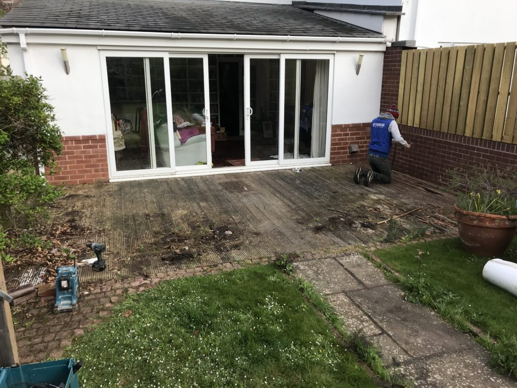 New Patio and Planters - Countess Wear, Exeter | Ed Rogers