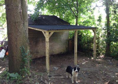 Newly built log store