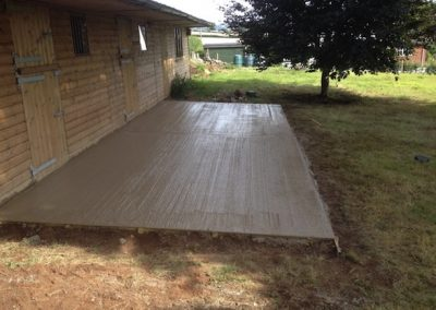 Another concrete job by our team
