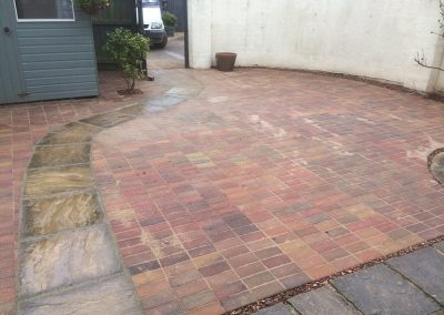 Blocked paved patio – Exeter