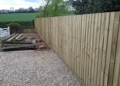 Reasons for choosing feather edge fencing